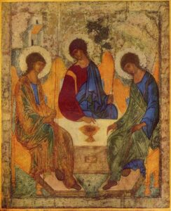 Dreifaltigkeits-Ikone (1425) - Andrej Rubljow
